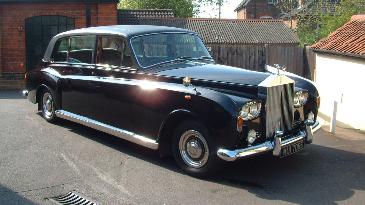 vintage rolls royce wedding car hire Essex