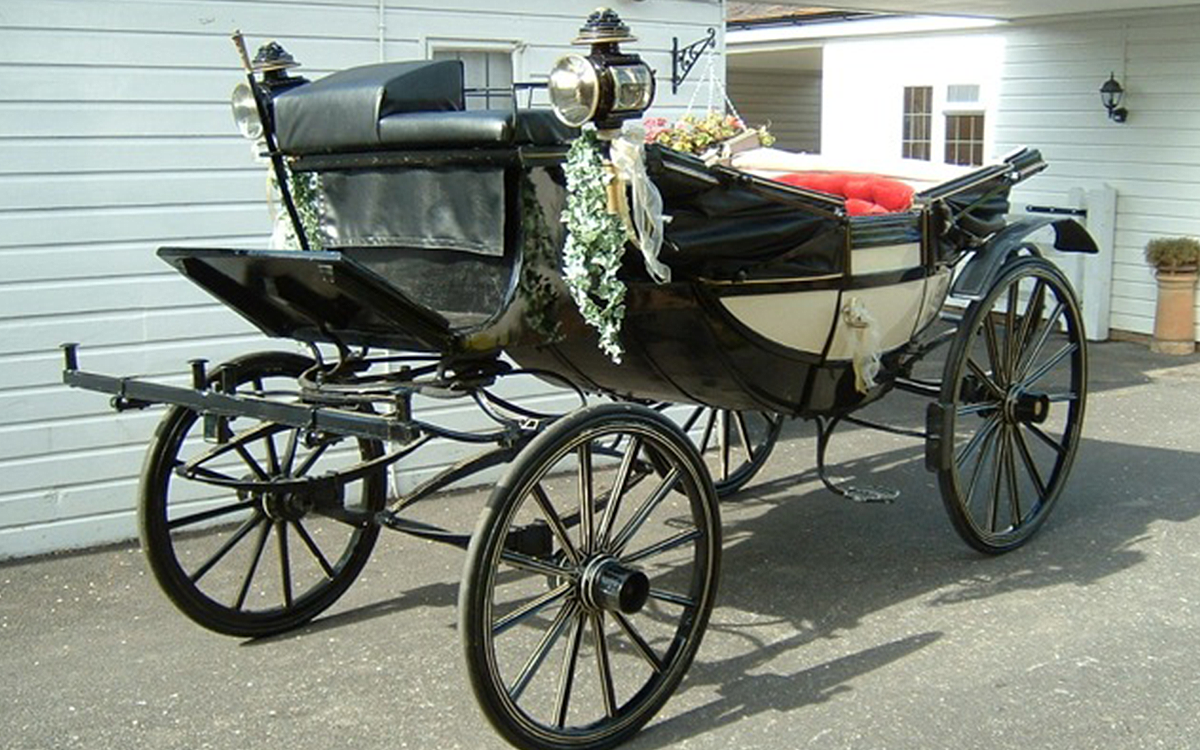 Classic horse and carriage hire for weddings in essex for Car carriage