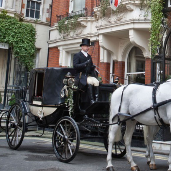 wedding horses and carriage hire