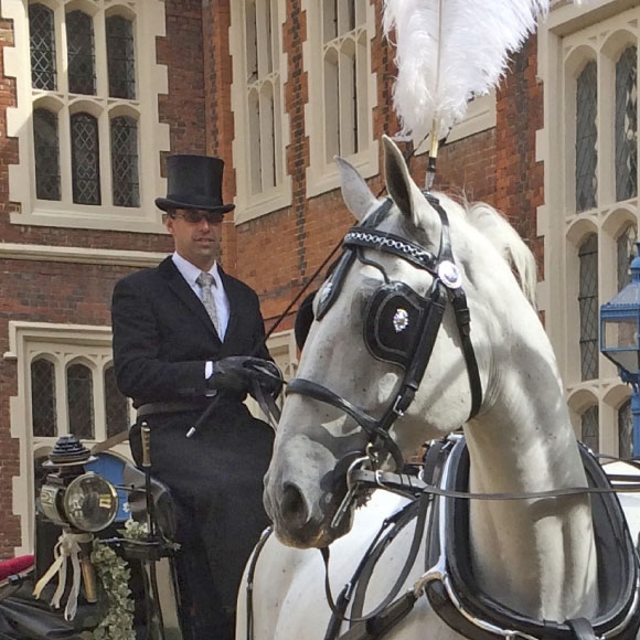 vintage horses and carriage hire in essex