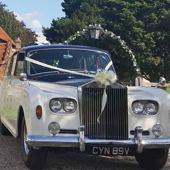 rolls royce wedding limousine hire essex