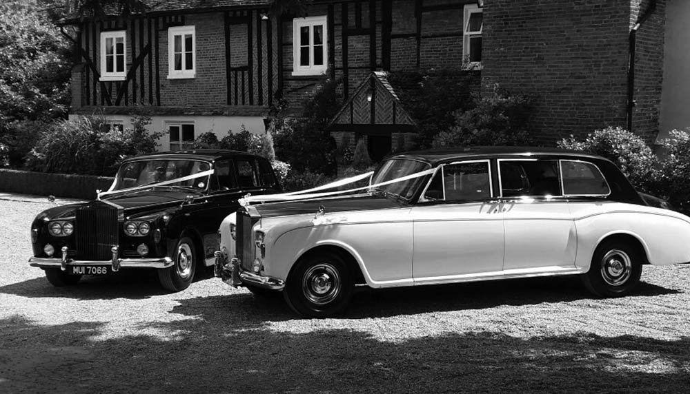 vintage wedding car hire in essex